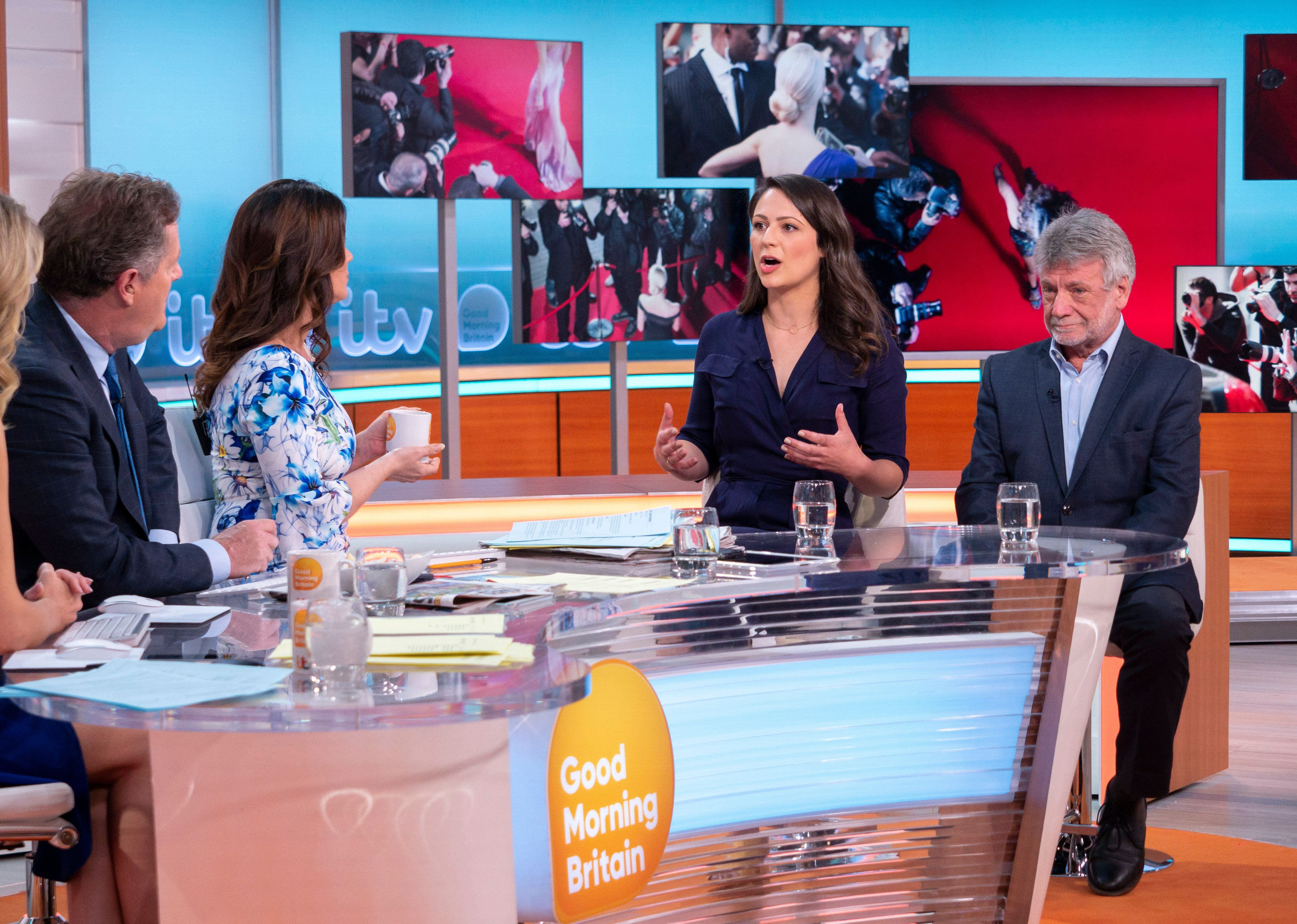 'Corrie' Star Nicola Thorp Clashes With Piers Morgan In 'Good Morning Britain' Sexism