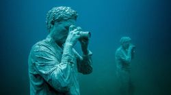 Museo Atlantico: Εντυπωσιακά γλυπτά και υδρόβια ζωή στο πρώτο υποθαλάσσιο μουσείο της