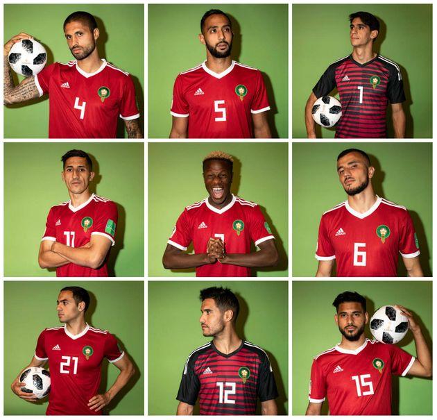 Mondial 2018: Les portraits officiels de la sélection nationale sont