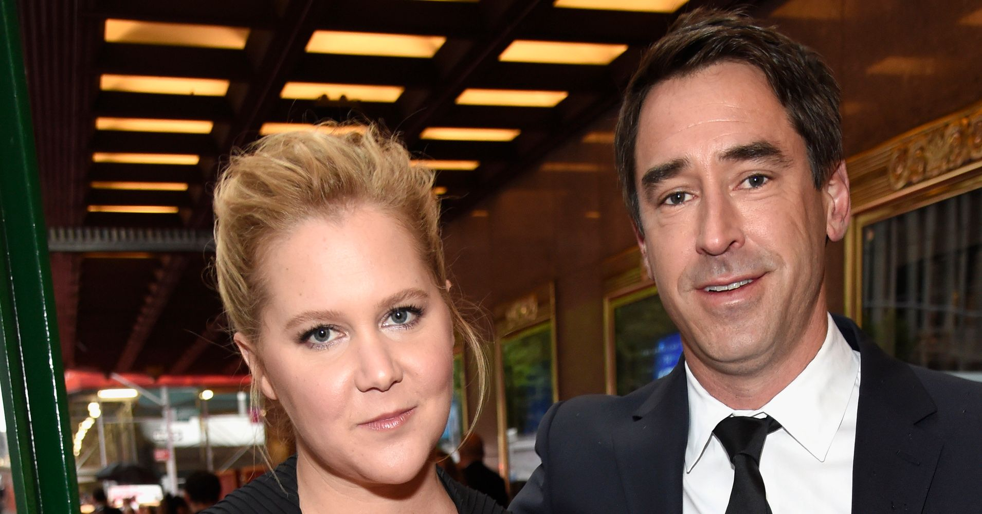 42d31e03d0 Amy Schumer And Husband Chris Fischer Make Red Carpet Debut At The 2018  Tony Awards