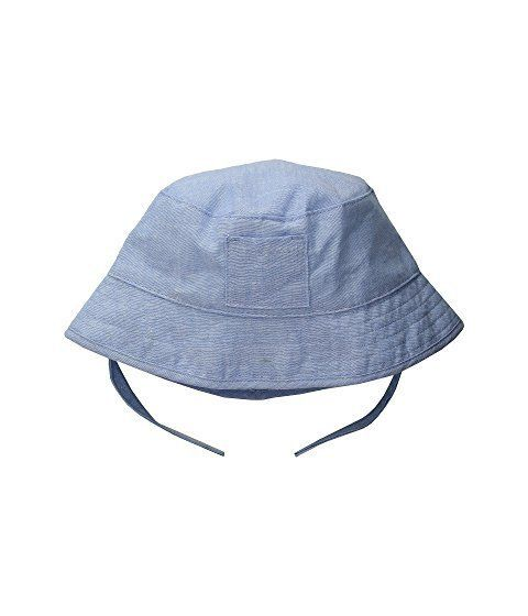 """Get it on <a href=""""https://www.zappos.com/p/janie-and-jack-linen-bucket-hat-infant-toddler-sky-blue/product/9092016/color/641"""