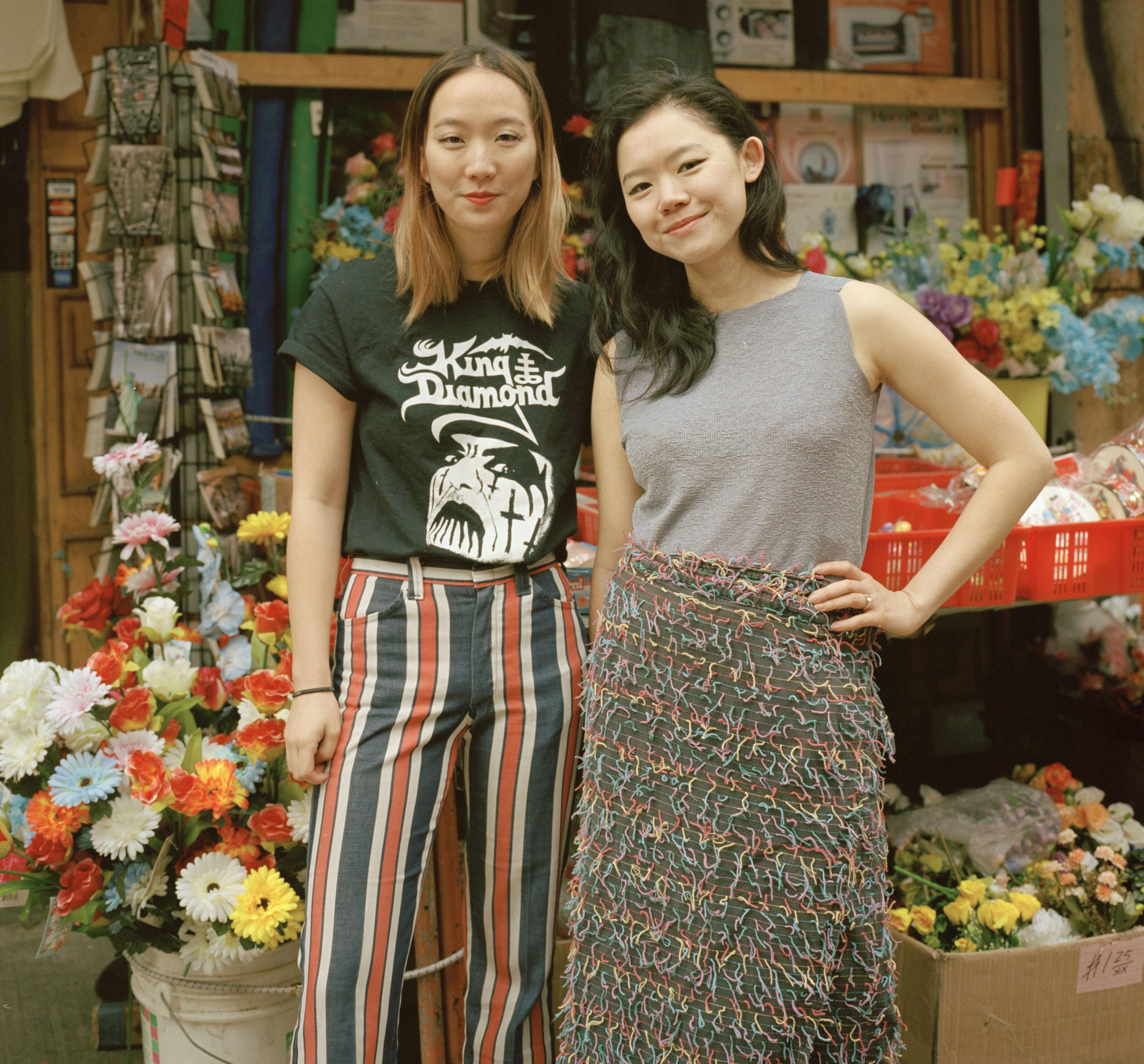 Kathleen Tso, left, and Vicki Ho, right, founded Banana Magazine in 2014.