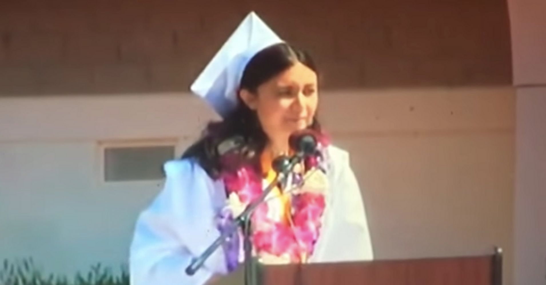 School Cuts Off Valedictorian's Speech After She Tries To Discuss Her Sexual Assault