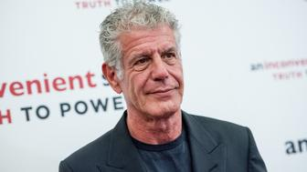 NEW YORK, NY - JULY 17:  Anthony Bourdain attends 'An Inconvenient Sequel: Truth To Power' New York screening at the Whitby Hotel on July 17, 2017 in New York City.  (Photo by Roy Rochlin/FilmMagic)