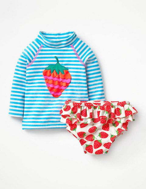 """Get it on <a href=""""http://www.bodenusa.com/en-us/baby-swimwear/rash-guards-and-surf-suits/y0156-lbl/baby-candy-blue_ivory-str"""