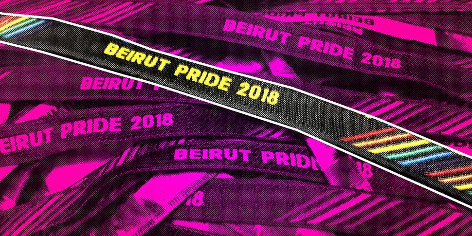 Bracelets for Beirut Pride 2018.
