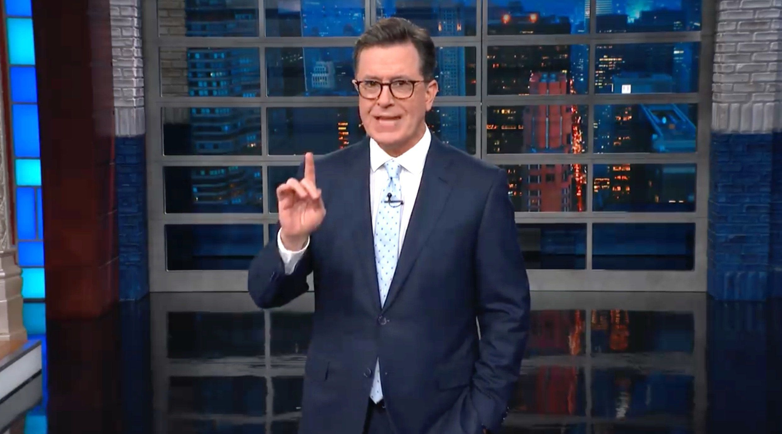 Colbert Sums Up Iconic New Trump Image: 'Still Life With