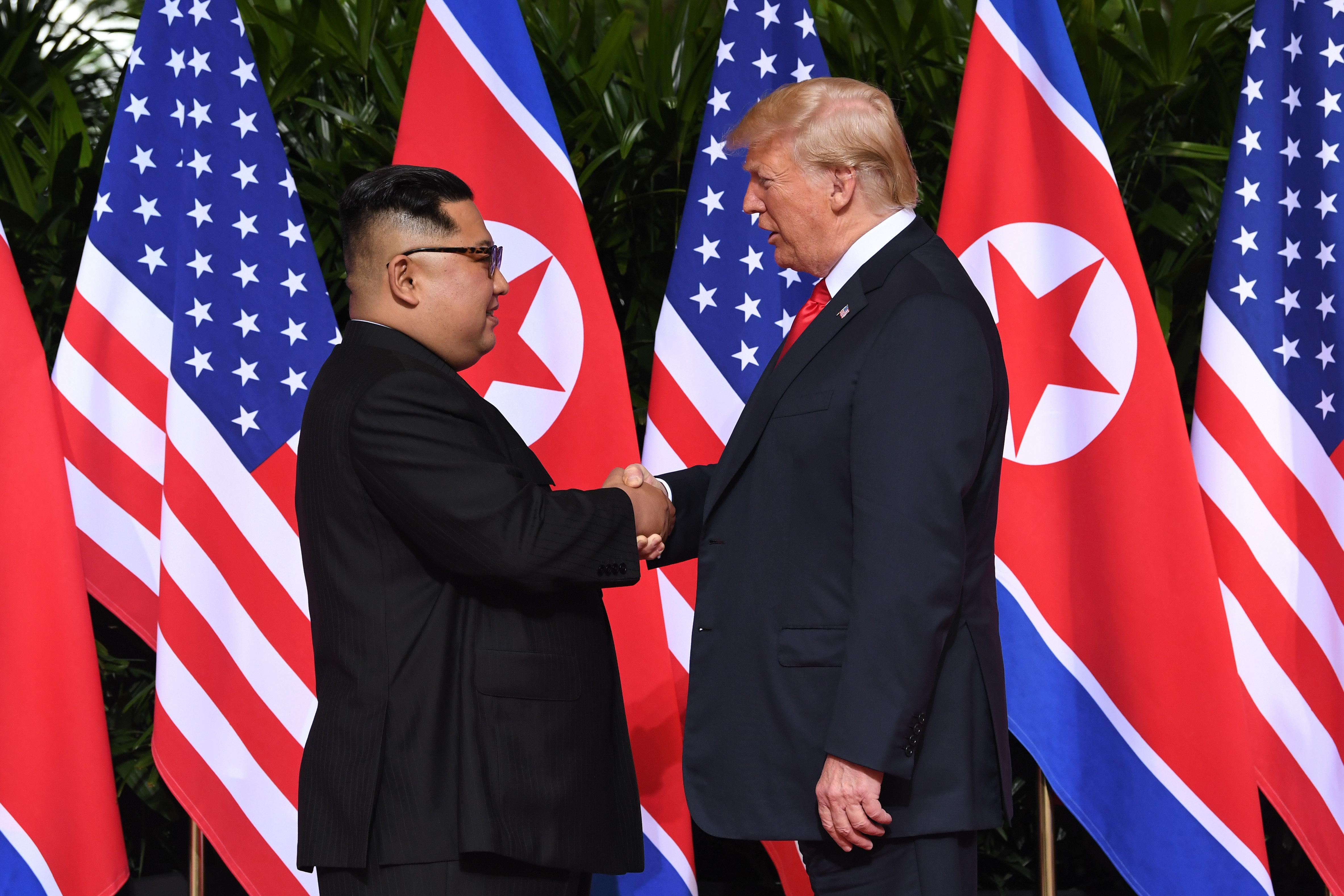 마침내 트럼프 대통령과 김정은 위원장이
