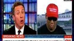 Surrealer TV-Moment: Ex-Basketballstar Rodman weint wegen