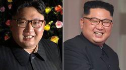 김정은의 '올백 사다리꼴' 헤어는