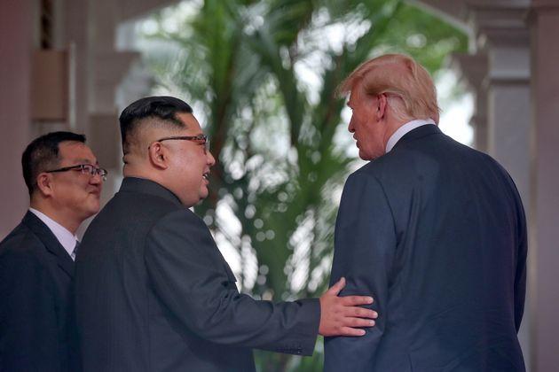 단독회담 후 김정은과 트럼프가 소감을
