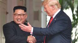 단독회담 후 김정은과 트럼프가 소감을 밝혔다