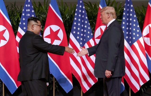 김정은이 트럼프에게 건넨 첫마디는