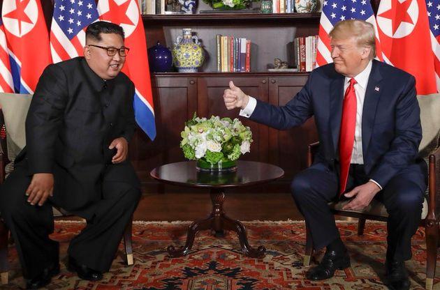 Trump und Kim: Was ihr Handschlag über die beiden