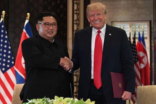 트럼프 대통령과 김정은 위원장이