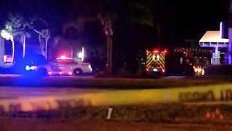 A Florida man killed four children and shot a police officer before he took his own life ending a daylong standoff with police on Monday police said