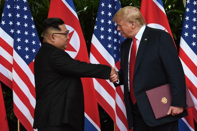 트럼프 대통령이 김정은 위원장을 백악관에