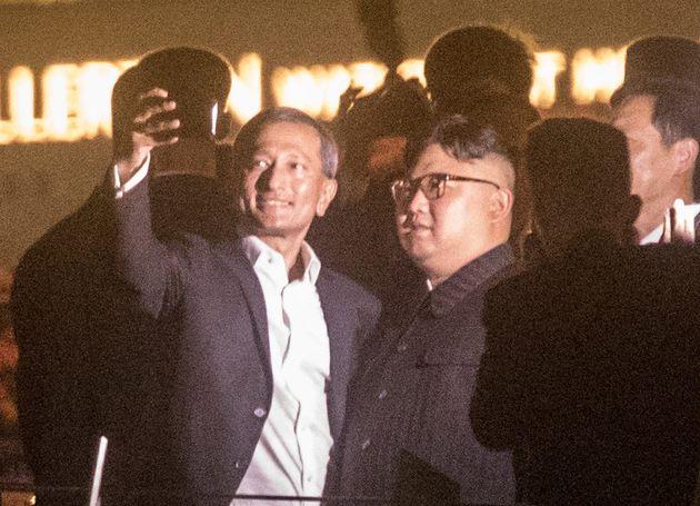 김정은 위원장이 오늘밤에는 싱가포르 관광을 하지 않을 것