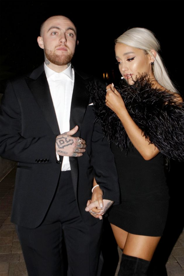 Ariana with ex Mac