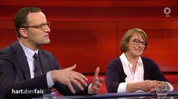"""""""Hart aber fair"""": Spahn redet über Pflege – und wird von Pflegerin ausgelacht"""