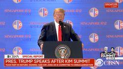 Trump spricht nach dem Gipfel – was er mit Nordkorea vorhat, zeigt ein Video vor der
