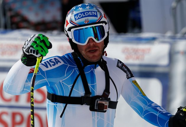 Bode Miller pictured in the men's Alpine Skiing World Cup downhill race in Wengen in