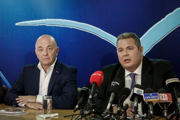 Καμμένος: Δεν συμφωνούμε, δεν θα ψηφίσουμε τη συμφωνία για την ΠΓΔΜ. Εκλογές το