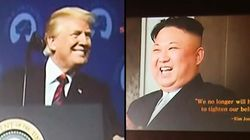 Trump And Kim Become Friends For