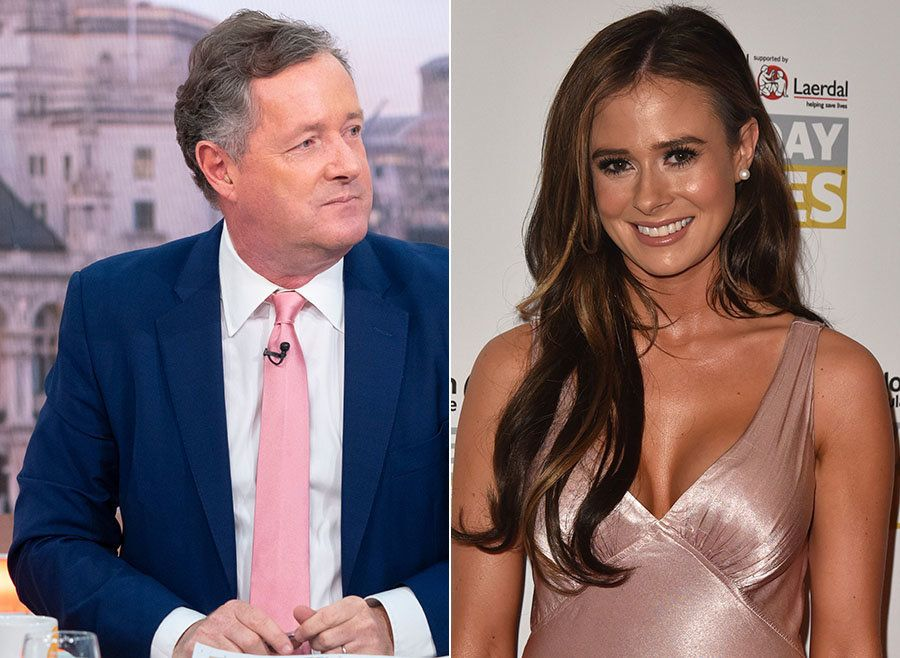 'Love Island' Star Camilla Thurlow Takes Piers Morgan On Over 'Thick'