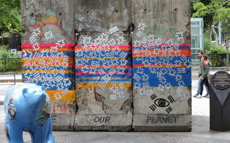 청계천 베를린장벽 훼손한 그래피티 아티스트가 경찰 조사에서 한 말
