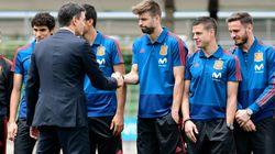 WM in Russland: Als spanische Fußballer ihre Unterkunft sehen, fahren sie ins Möbelhaus