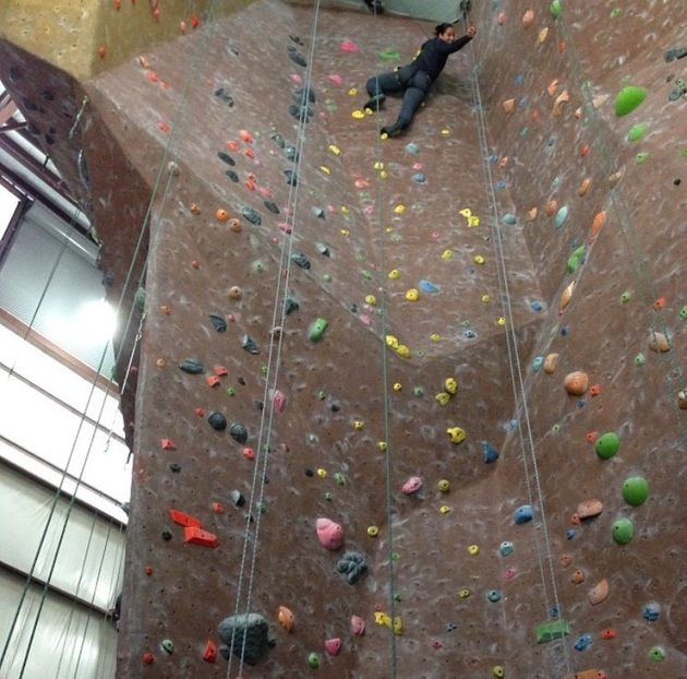 What Works For Me: 'Rock Climbing Gives Me An Adrenaline Rush – The Higher, The