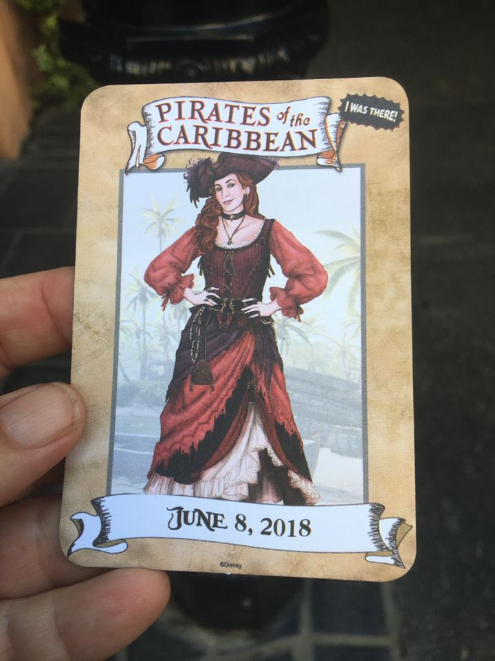 "Changes to the ""Pirates of the Caribbean"" ride at Disneyland include a new female character named Redd."