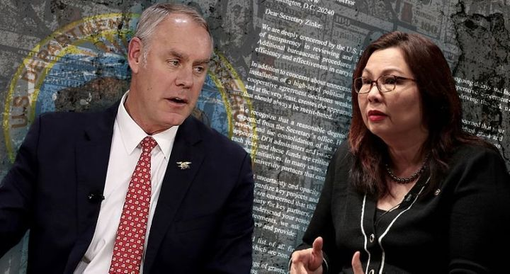 Ryan Zinke and Tammy Duckworth.