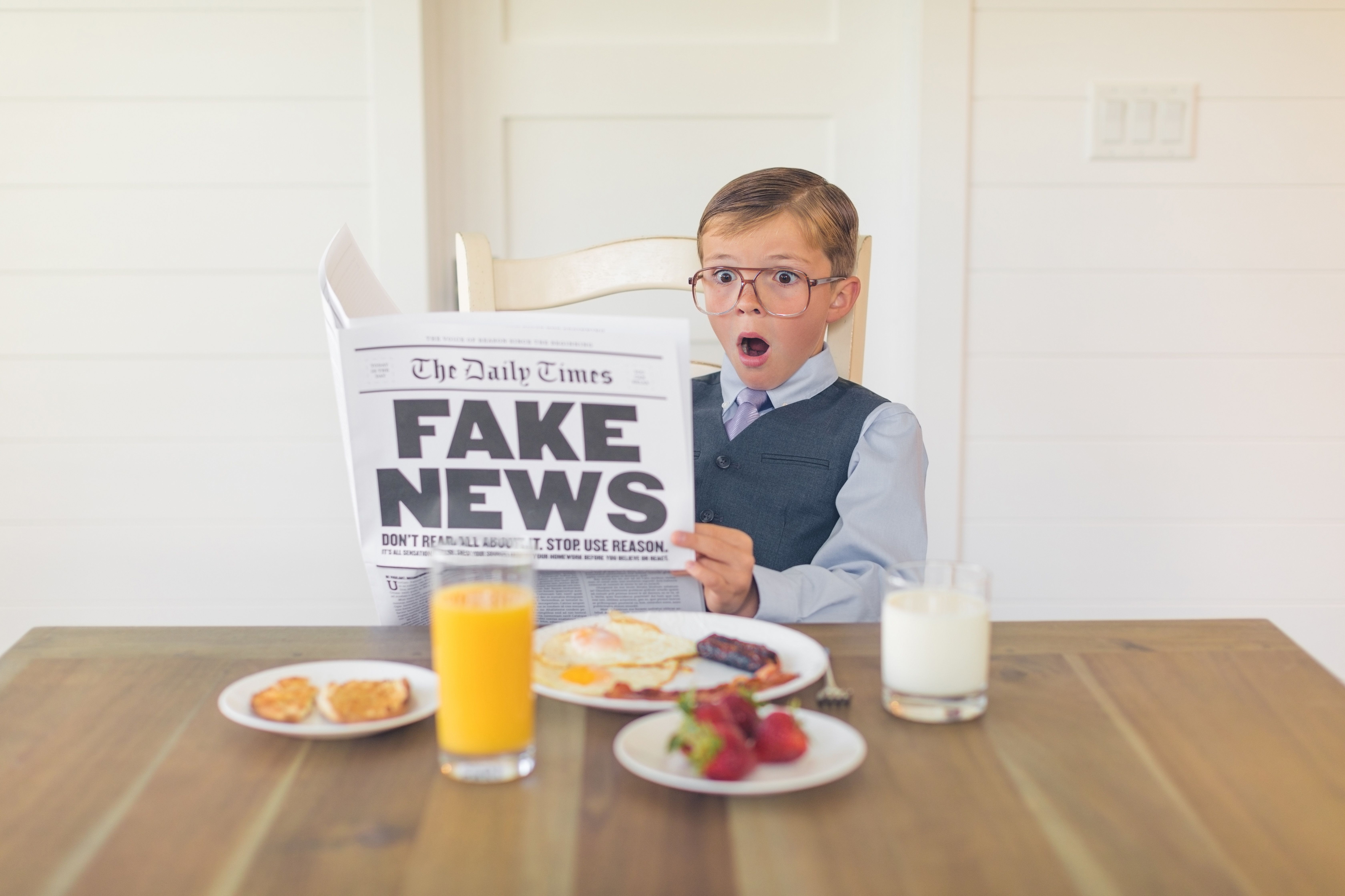 Just 2% Of Under-16s In The UK Have The Skills Needed To Spot Fake