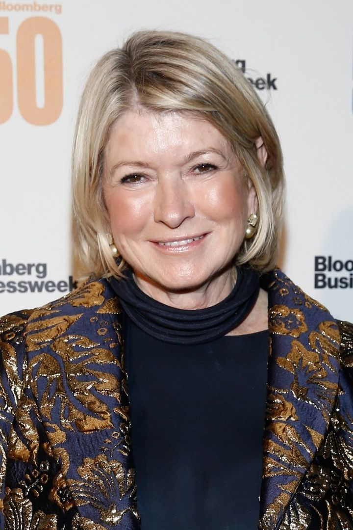 Even Martha Stewart struggles with selfies.
