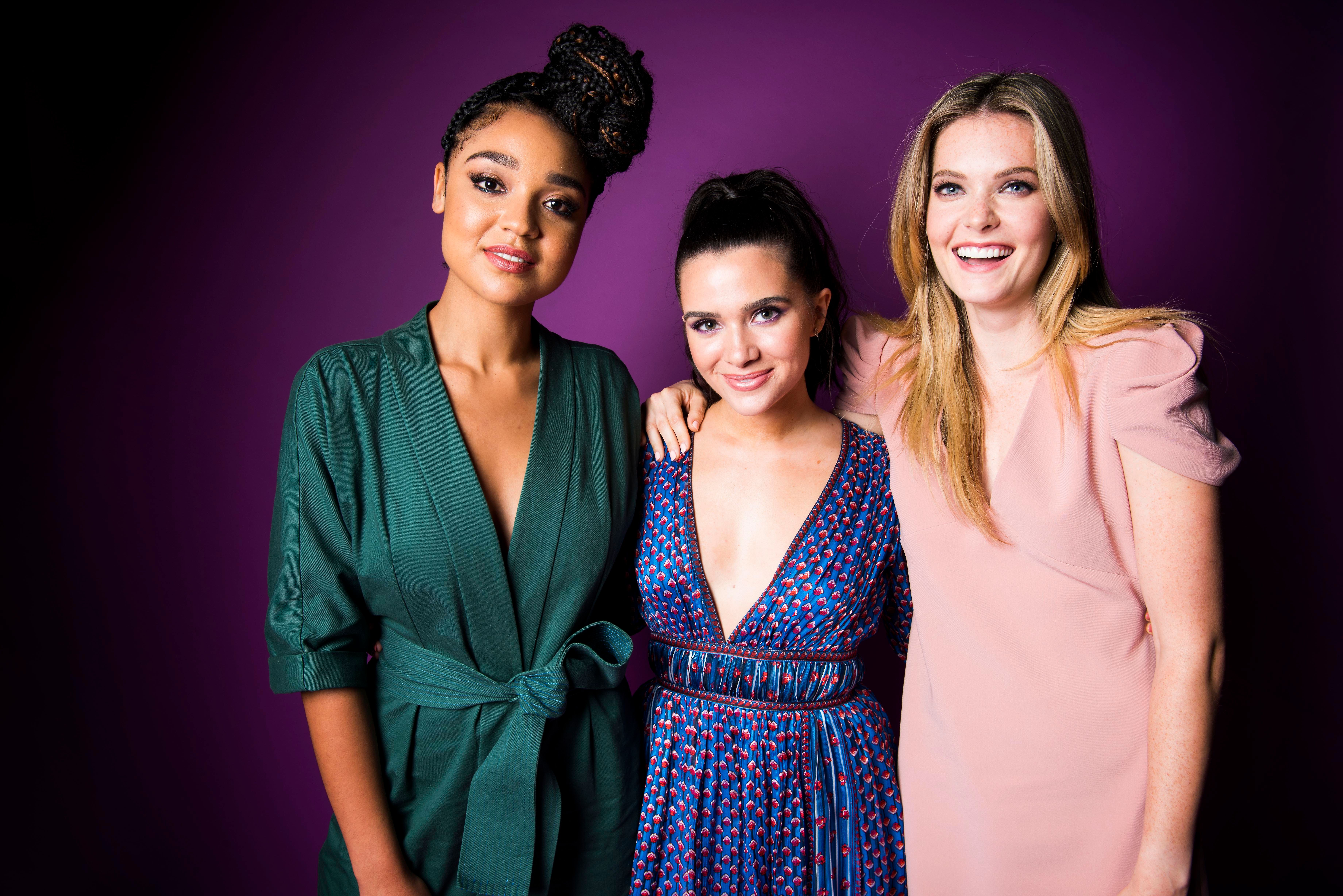 The Women Of 'The Bold Type' Visit A Real