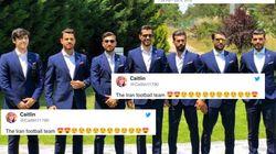 Mondial 2018: Le web sous le charme des joueurs de l'équipe iranienne