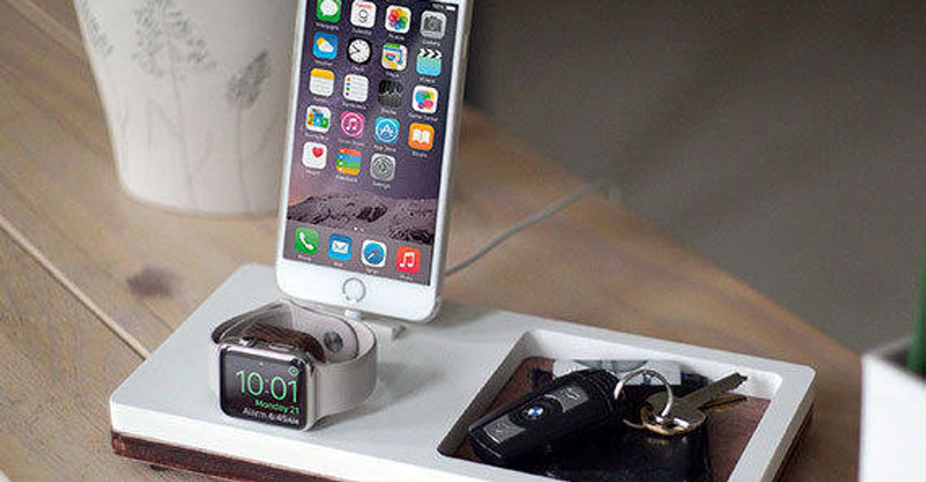 12 Charging Station Organizers That Will Simplify Your Work Space