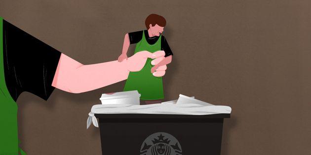 Starbucks Discriminates Against Older Workers, According To Former