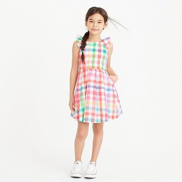 "<strong>Sizes</strong>: 2 to 16<br>Get it <a href=""https://factory.jcrew.com/p/girls-clothing/skirts_dresses/dresses/girls-ru"