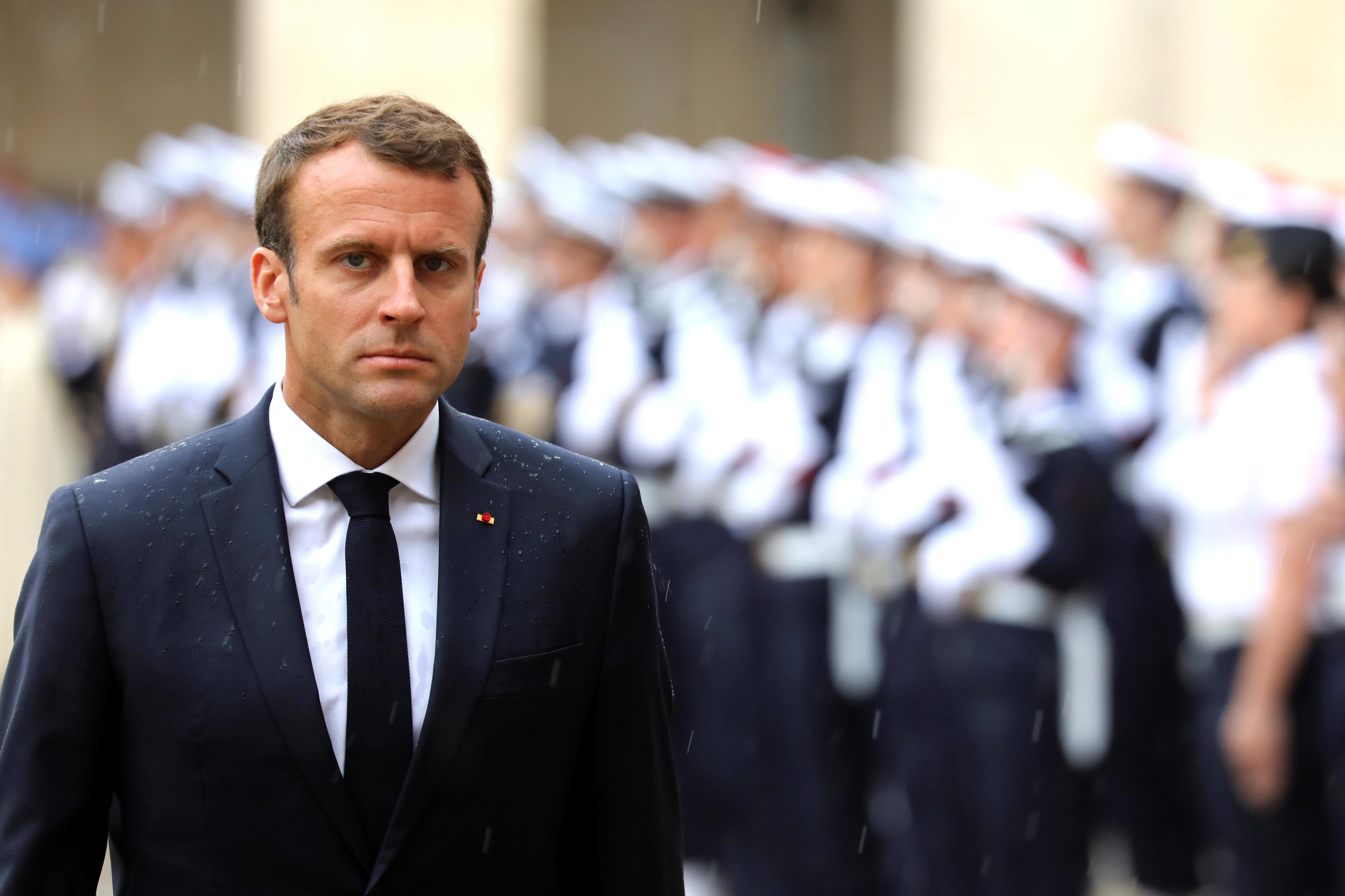 Aquarius: Emmanuel Macron dénonce
