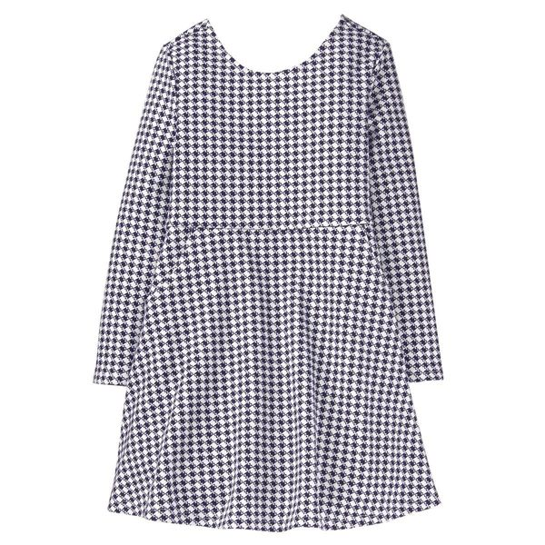 "<strong>Sizes</strong>: XS to XL<br>Get it <a href=""https://www.gymboree.com/item/girls-checked-dress-140176657.html?dwvar_14"