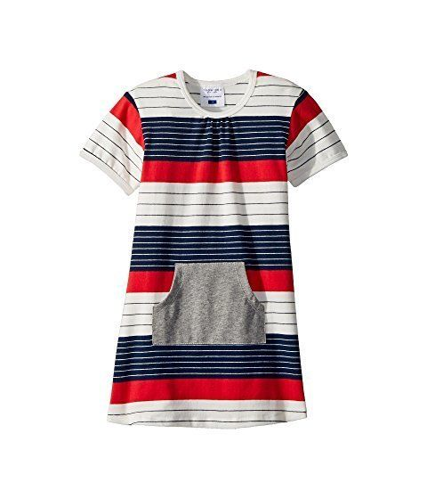 "<strong>Sizes</strong>: 3M to 4T<br>Get it <a href=""https://www.zappos.com/p/toobydoo-stars-and-stripes-pocket-dress-infant-t"