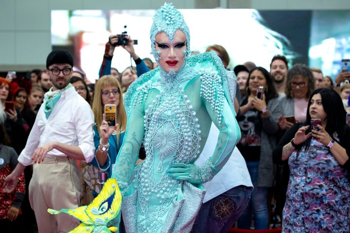 "Sasha Velour at ""RuPaul's DragCon"" in Los Angeles."