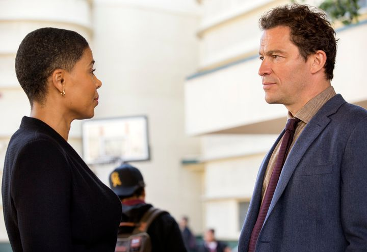 "Dominic West as Noah Solloway in Season 4 of ""The Affair."""