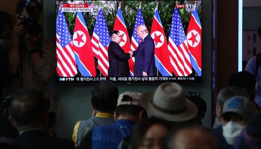 Was die Menschen in Südkorea über Trumps Gipfel-Show