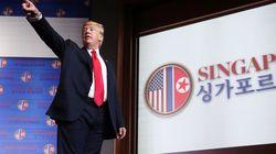 트럼프가 북미정상회담에 대한 '이중 잣대'를