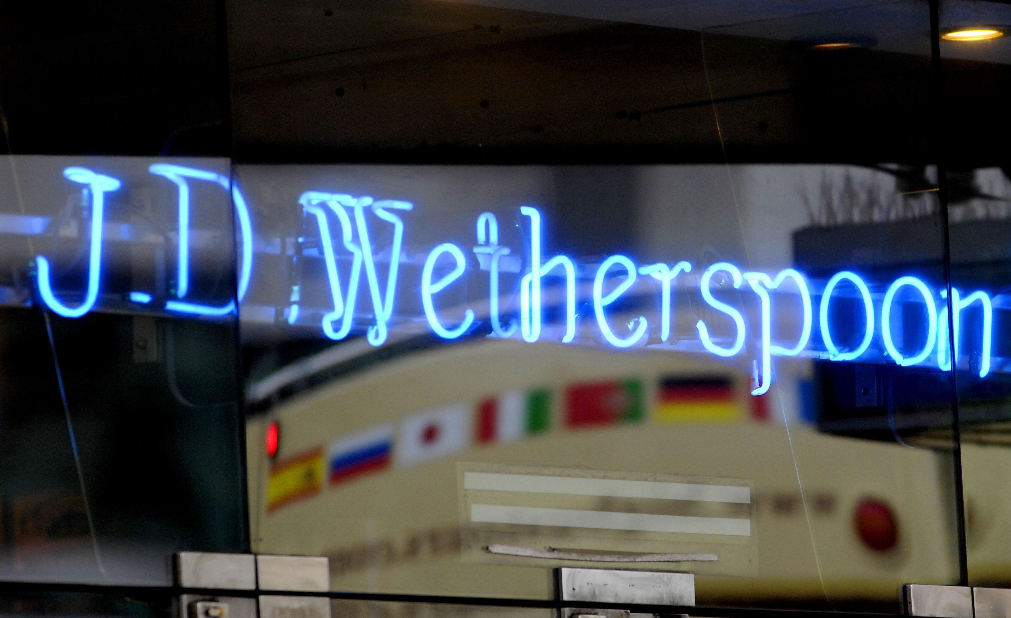 EU'll be selling less at Wetherspoons