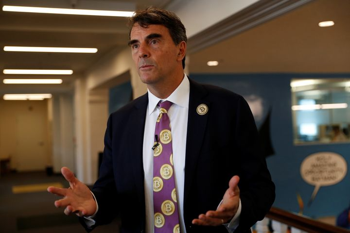 This is the third time Tim Draper, above, has tried to split up California.